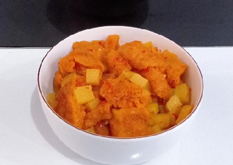 Resep: Sambal goreng kentang & krecek lezat