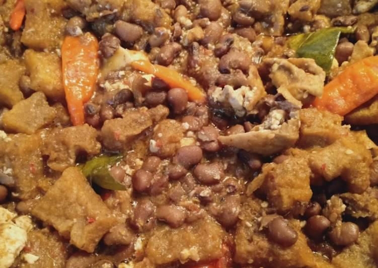 Resep memasak Sambal goreng krecek dan kacang tunggak sedap