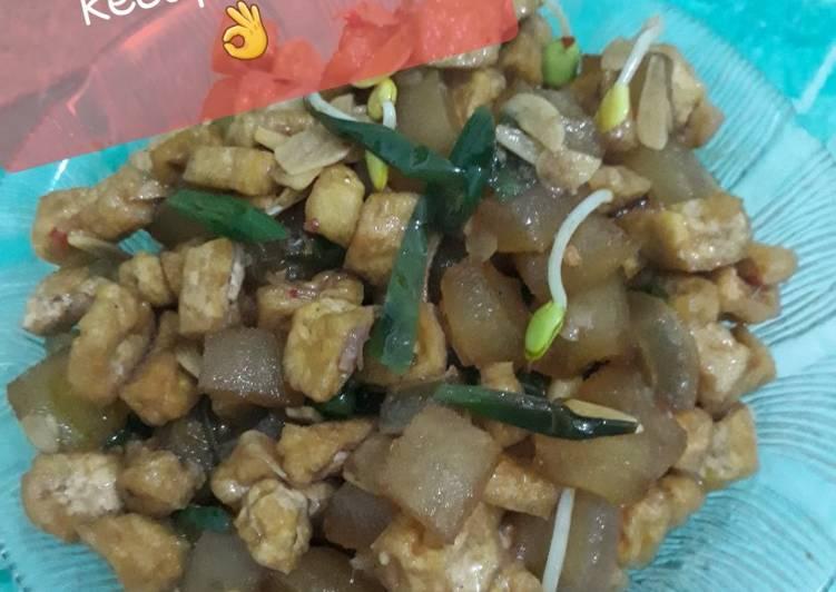 Resep membuat Sambel goreng cecek bumbu kecap simple👌👌