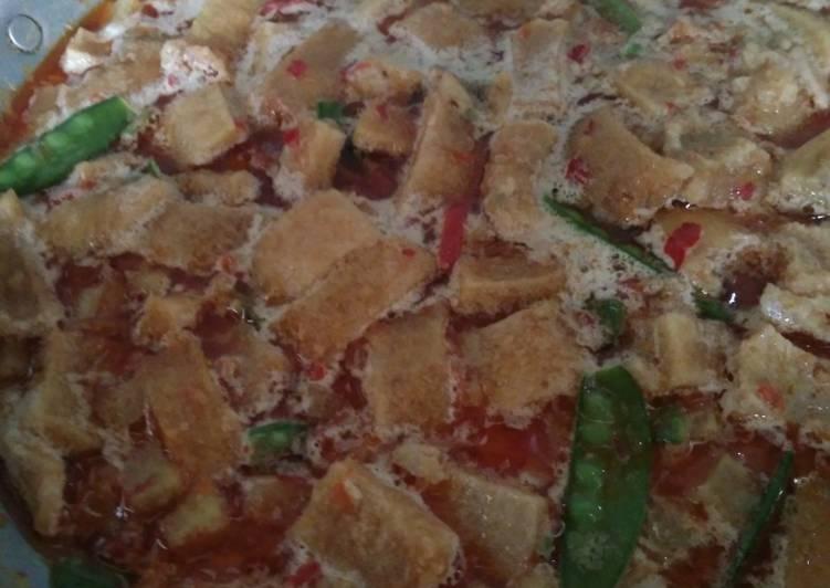 Resep: Sambel goreng krecek dan kentang sedap