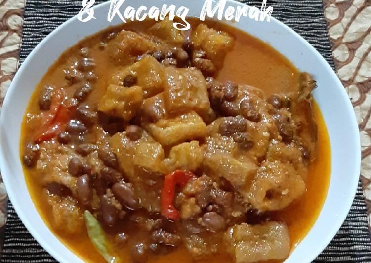 Cara Mudah memasak Sambal Goreng Krecek & Kacang Merah yang bikin ketagihan