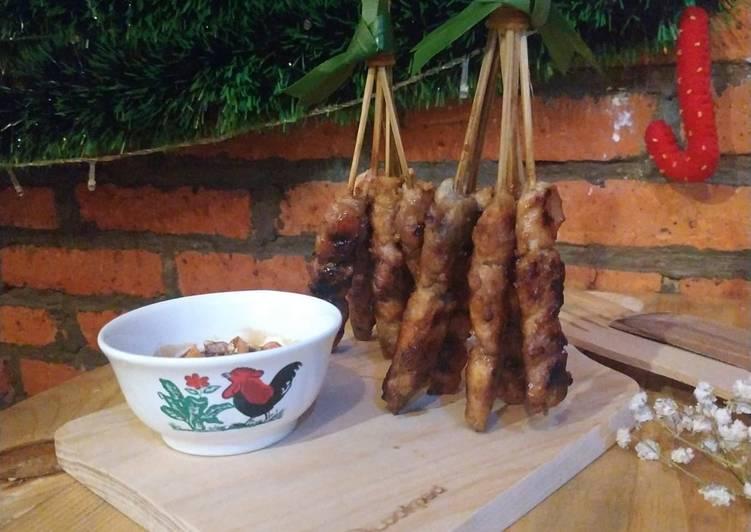 Resep: 94. Sate Ayam Manis ala Ibu Sri (simbok ku) lezat