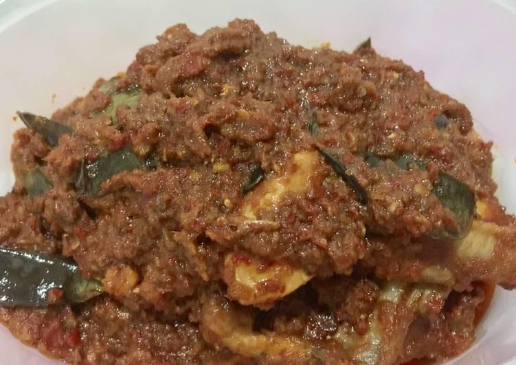 Resep memasak Ayam Bumbu Sate Pedas-Manis yang menggugah selera