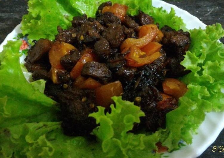 Cara memasak Sate Goreng Pedas Manis yang menggugah selera