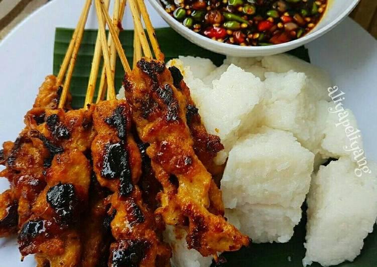 Resep: Sate ayam (sweet satay) ala resto