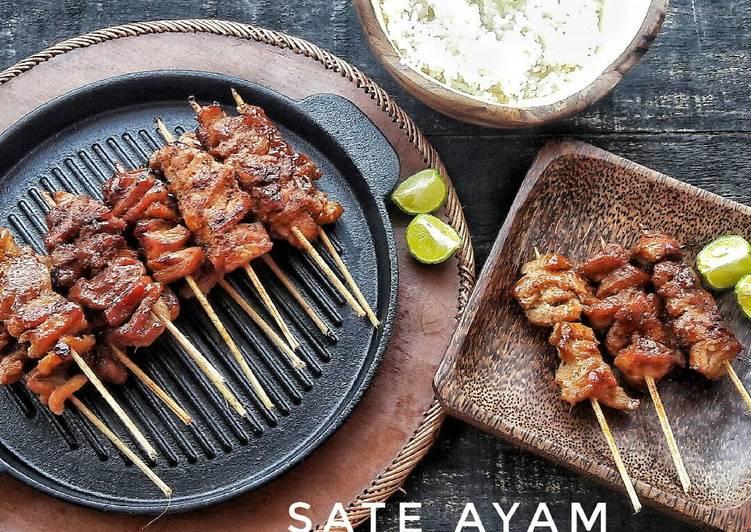 Resep memasak Sate Ayam(Sweet Satay) yang bikin ketagihan