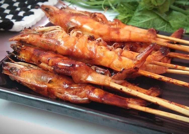 Resep: Sate Udang Pedas Manis yang menggugah selera