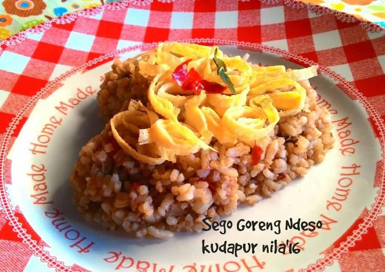 Nasi goreng Trasi ( Sego Goreng Ndeso)
