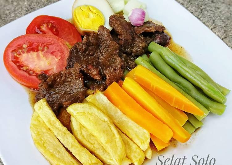 Resep membuat Selat Solo/Steak Jowo/Bistik Jawa yang menggugah selera