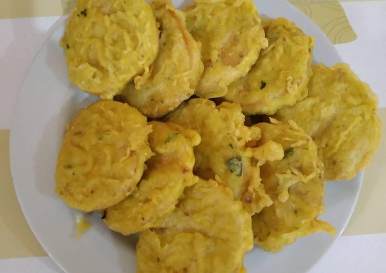 Resep: Tempe gembos goreng tepung (super renyah) enak