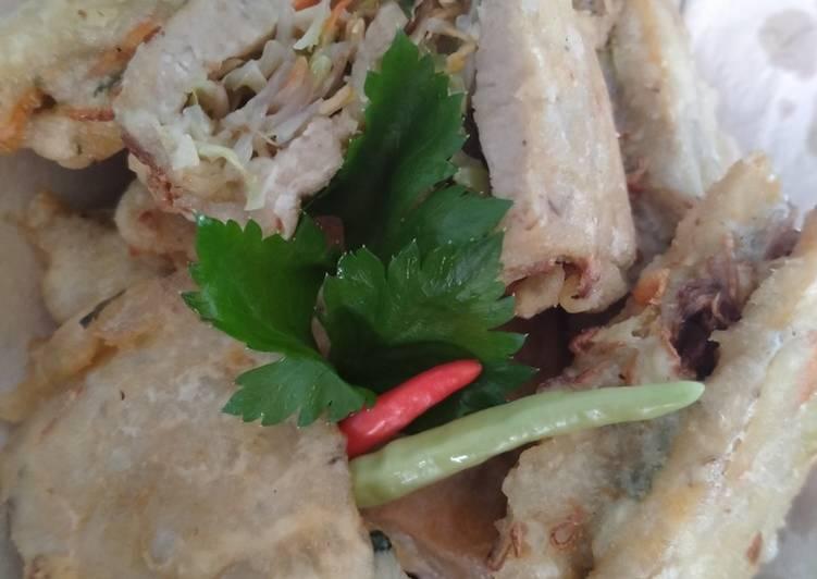 Resep: Tempe gembus isi (gorengan) lezat
