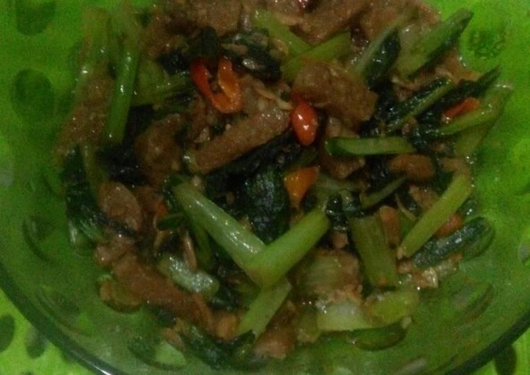 Resep: Oseng - oseng cesim tempe gembos