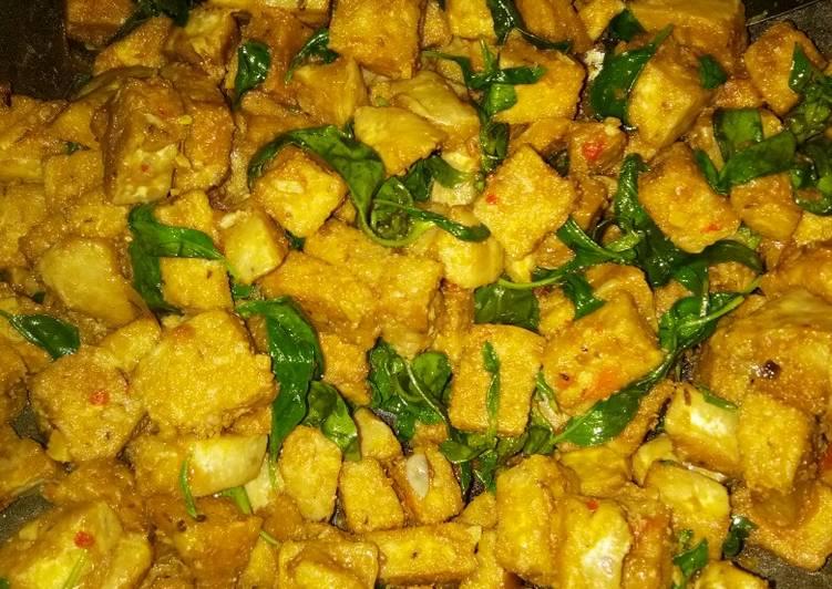 Resep memasak Oseng tempe gembus kemangi enak