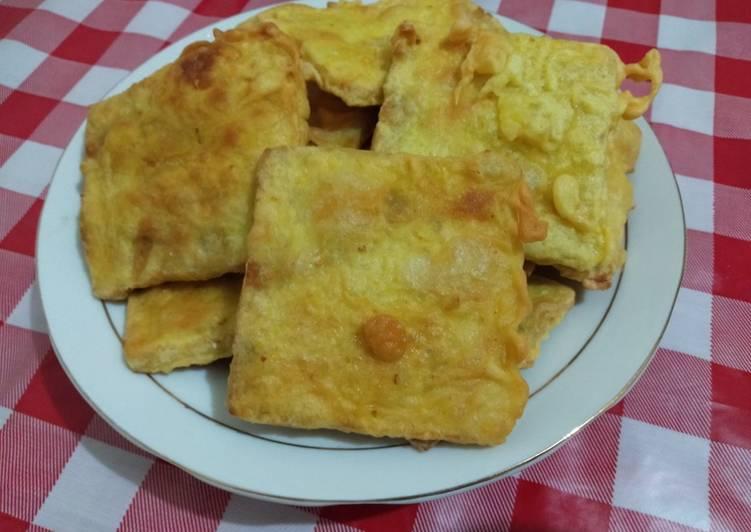 Resep: Tempe gembus goreng tepung sedap