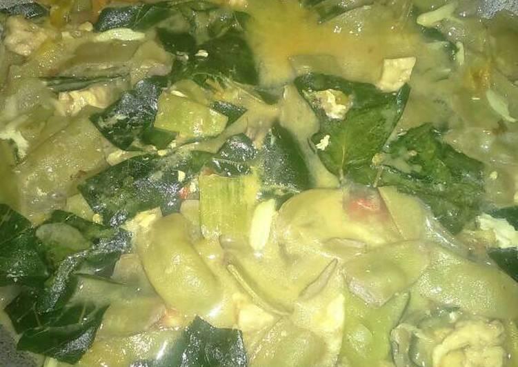 Resep: Sayur lodeh (koro, tempe, dan daun mangkuk) yang menggugah selera