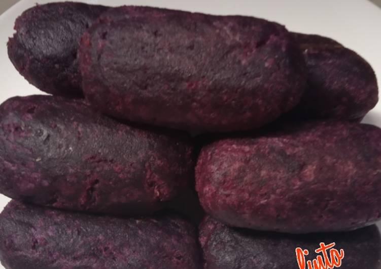 Resep: Timus ubi ungu yang bikin ketagihan