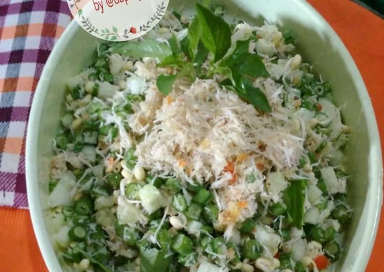 Resep: Trancam saladku ala resto
