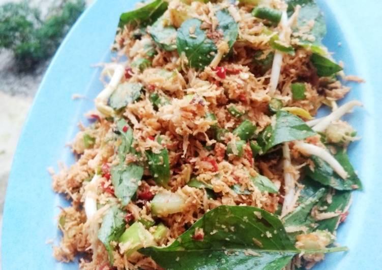 Resep: Trancam / urap sayuran mentah lezat