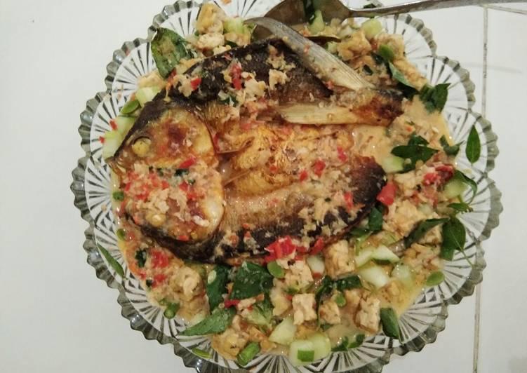 Resep: Trancam ikan bandeng enak