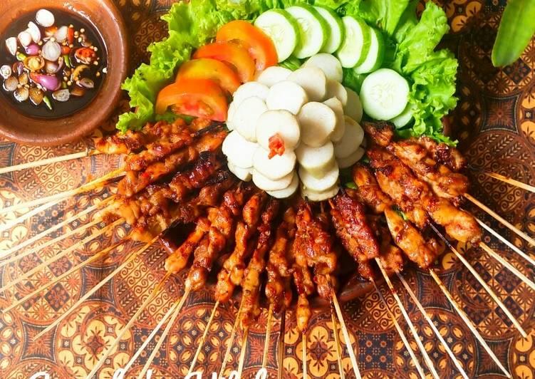 Resep: Tumpeng Sate Ayam enak