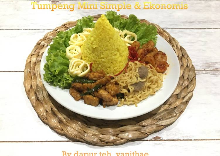 Resep: Tumpeng Mini Simple & Ekonomis ala resto