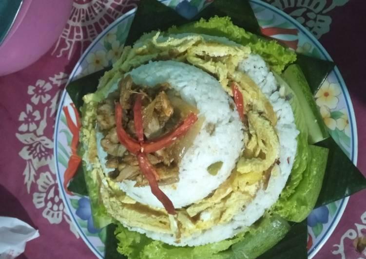 Resep: Tumpeng nasi liwet sederhana utk ultah ala resto