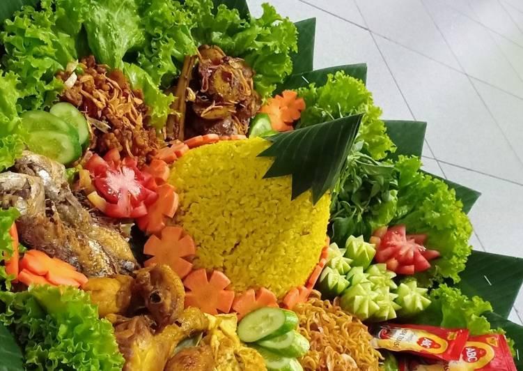 Resep: Nasi Tumpeng Ulang Tahun (Ricecooker) ala resto
