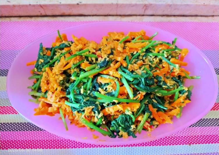 Cara memasak Urap sayur sehat dan nikmat yang menggugah selera