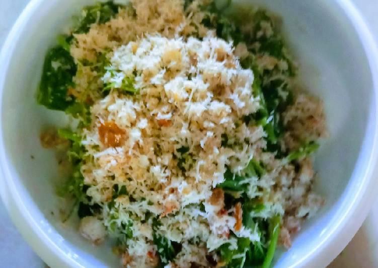 Resep membuat Urap sayur bayam yang menggugah selera