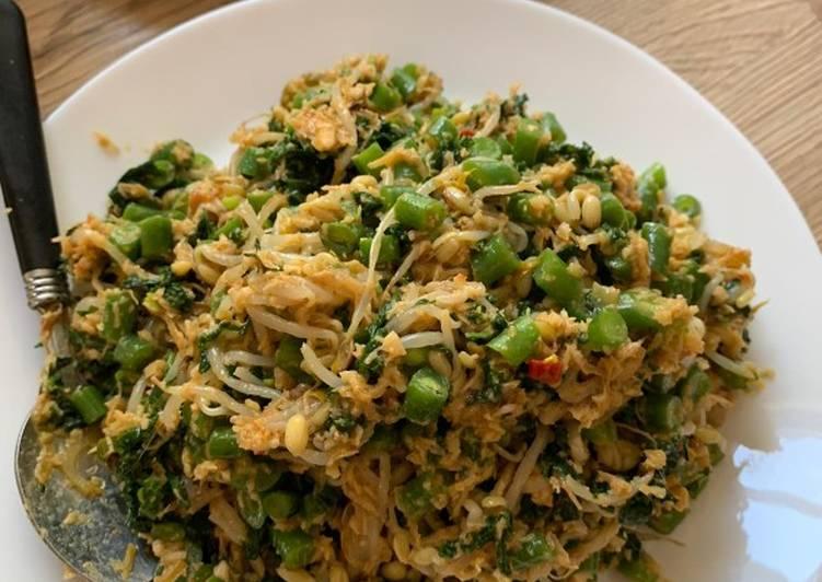 Resep mengolah Sayur Urap ala dapur Suci istimewa