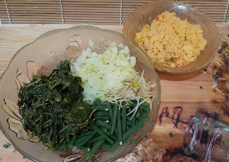 Urap urap sayuran