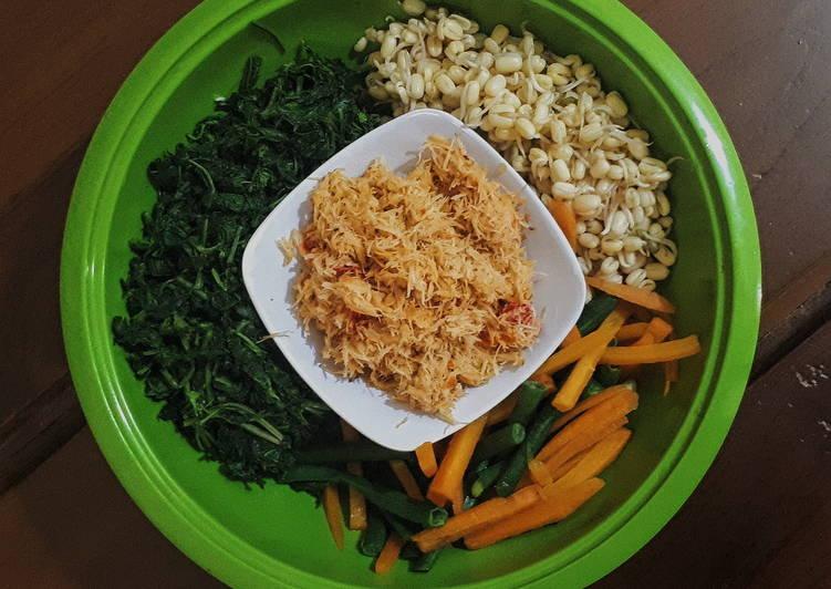 Resep memasak Urap-urap sayur