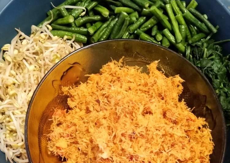 Resep: Urap - urap sayur