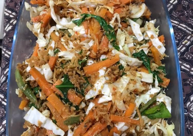 Resep memasak Urap sayur lezat