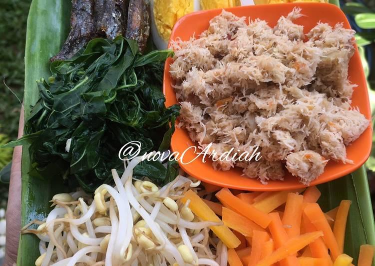 Resep membuat Urap sayur enak