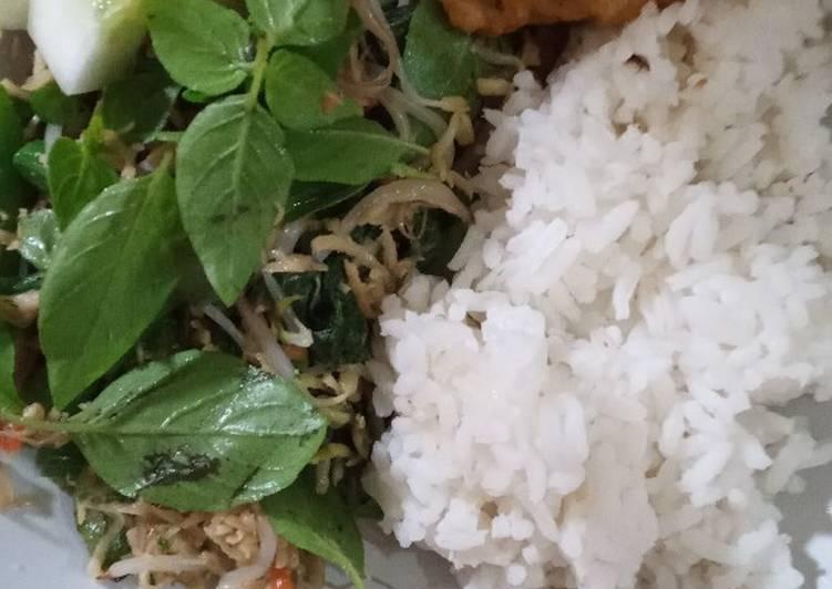 Cara memasak Urap sayuran ala buk lis istimewa