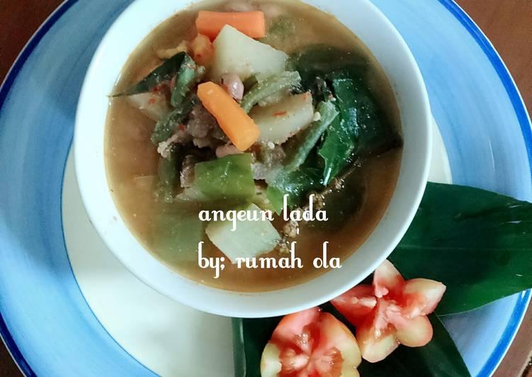 Cara memasak Angeun lada sayuran ala rumah ola enak