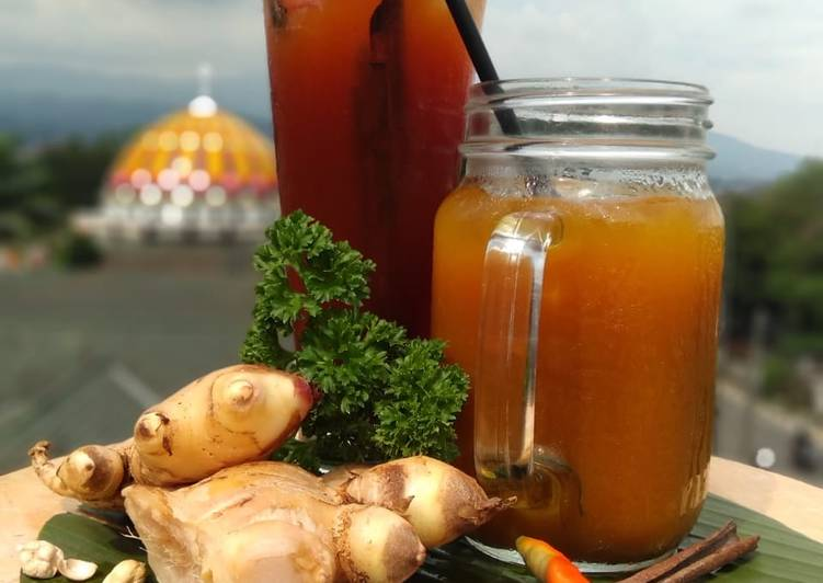Cara membuat Wedang Secang & Traditional Ice Lombok lezat