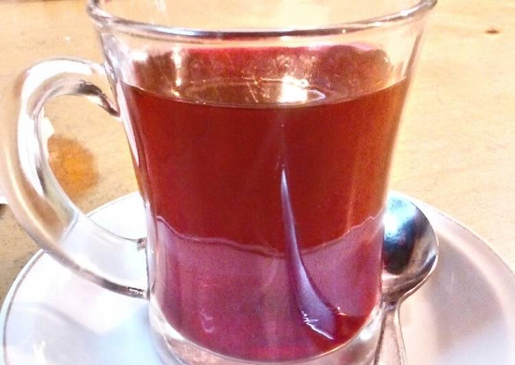 Resep: Wedang secang wangi kental pedas