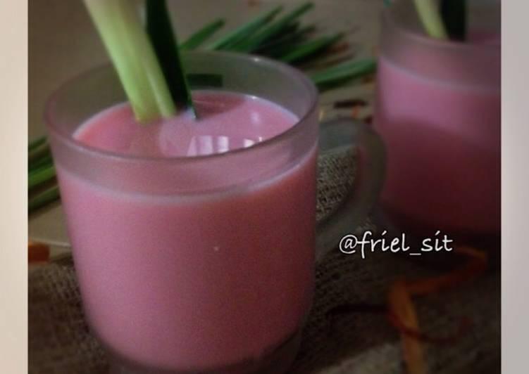 Resep: Wedang secang susu yang bikin ketagihan