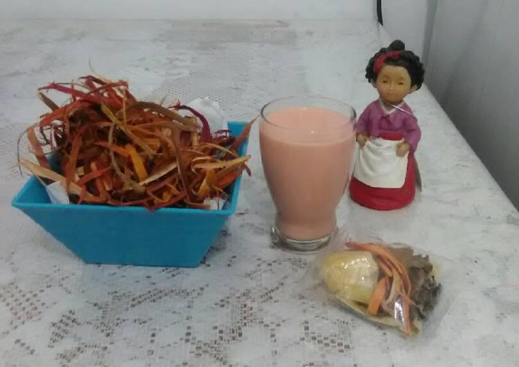 Resep memasak Wedang Uwuh Susu ala resto