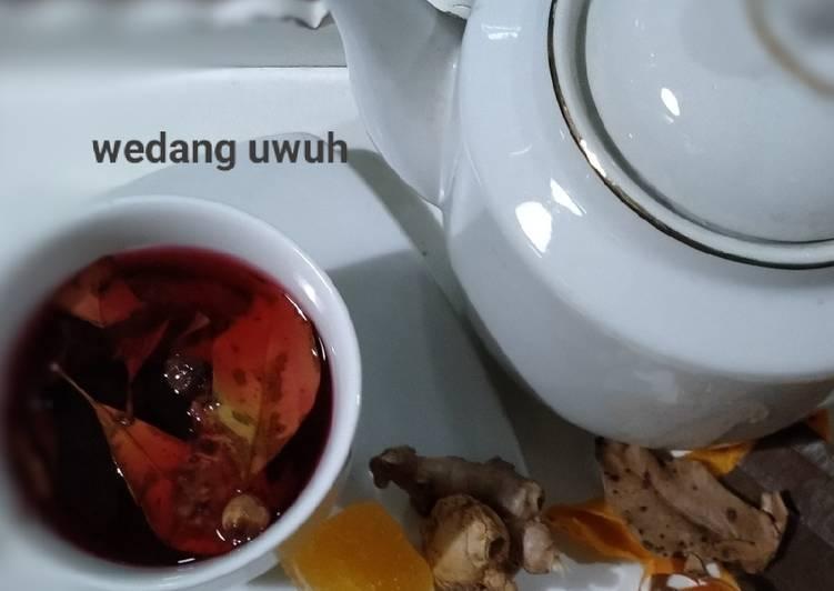 Resep: Wedang uwuh homemade istimewa