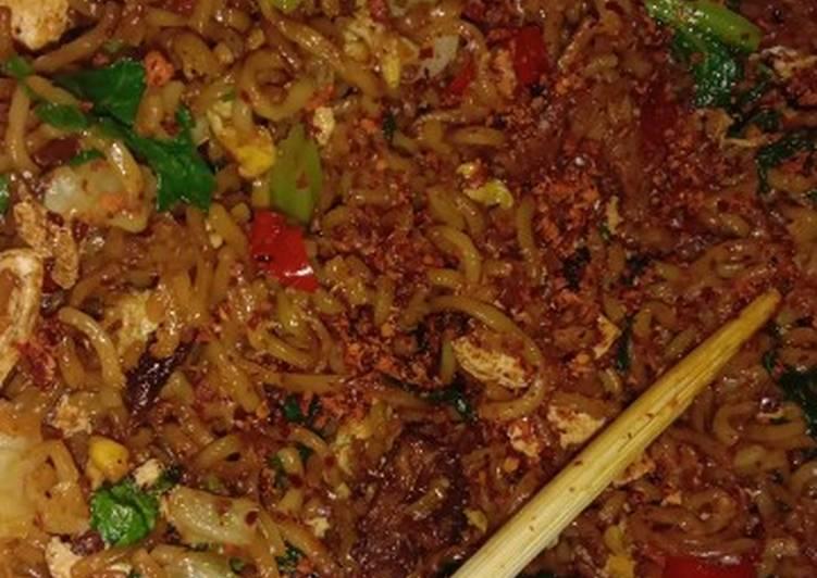 Resep mengolah Mi Nyemek Pedas yang bikin ketagihan