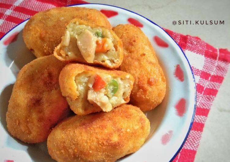 Resep: Cimplung kentang isi rogut