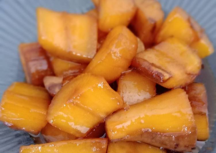 Resep mengolah Singkong mandi gula (Cimplung) yang menggugah selera