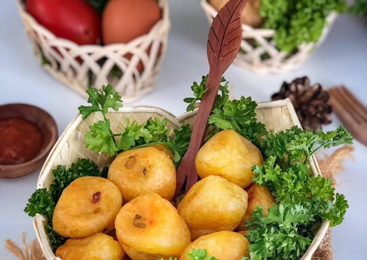 Resep: Cimplung kentang enak