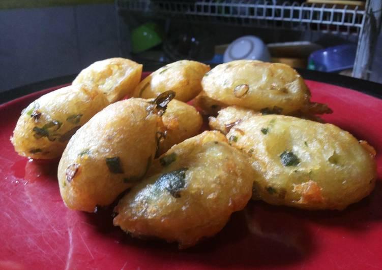 Resep: Cimplung (perkedel kentang aci)