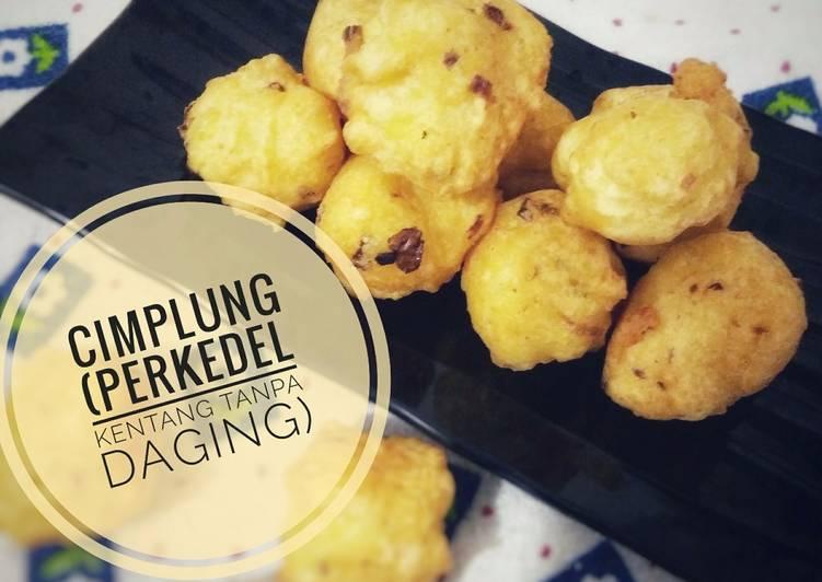 Resep: Cimplung (perkedel kentang tanpa daging) #Bandung_RecookDewiLinaFaidah