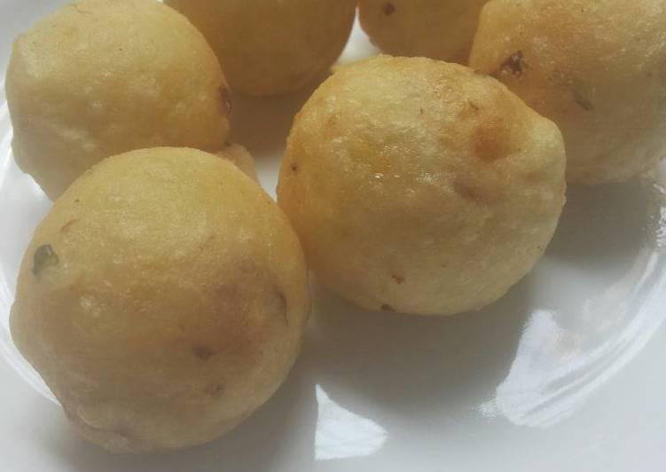 Resep: Cimplung (hasil silang perkedel kentang dan cireng) enak