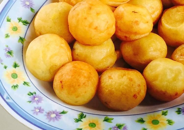 Resep: Cimplung Perkedel kentang mirip dengan cimplung sambal hejo natuna 😂 yang menggugah selera